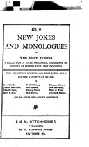 New Jokes and Monologues