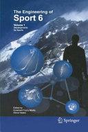 Engineering of Sport 6 Book