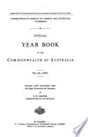 Official Year Book Of The Commonwealth Of Australia No 43 1957