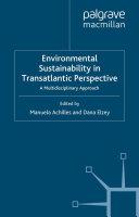 Environmental Sustainability in Transatlantic Perspective