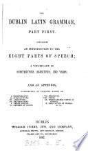 The Dublin Latin grammar Book PDF
