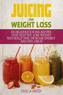 Juicing for Weight Loss Book