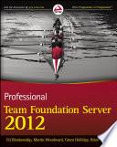 Professional Team Foundation Server 2012 Book