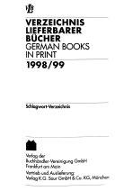 German books in print Book