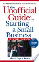 The Unofficial Guide To Starting A Small Business Book