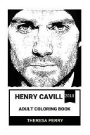 Henry Cavill Adult Coloring Book