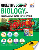 Free Sample Objective Ncert Xtract Biology For Neet Aiims Class 11 12 Jipmer 5th Edition Interior