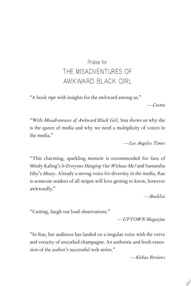 The Misadventures of Awkward Black Girl image