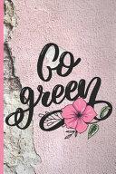 Funny Blank Vegan Recipe Book   Go Green