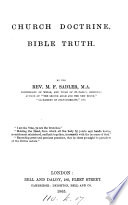 Church Doctrine  Bible Truth