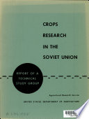 Crops Research in the Soviet Union