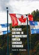 Pdf Teaching Culture in Introductory Foreign Language Textbooks Telecharger