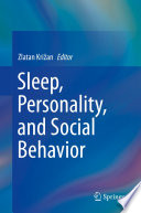 Sleep Personality And Social Behavior