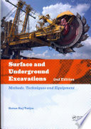 Surface And Underground Excavations 2nd Edition
