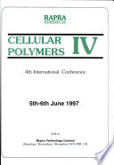 Cellular Polymers IV Book