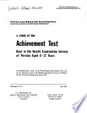 A Study of the Achievement Test