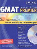 Kaplan GMAT 2010 2011 Premier with CD ROM Book