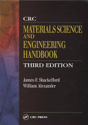 CRC-Material Science and Engineering Handbook, James F. Shackelford & William Alexander, 3rd Edition, 2001
