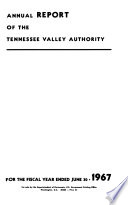 Annual Report of the Tennessee Valley Authority