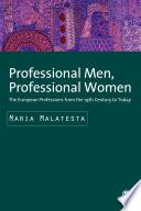 Professional Men Professional Women