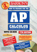 How to Prepare for the AP Calculus with CD ROM Book PDF