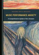 Music Performance Anxiety