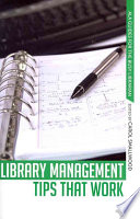 Library Management Tips that Work Book