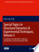 Special Topics in Structural Dynamics   Experimental Techniques  Volume 5
