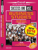 Cover of Success One Business Studies
