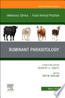 Ruminant Parasitology,An Issue of Veterinary Clinics of North America: Food Animal Practice E-Book