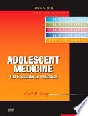 Adolescent Medicine E-Book