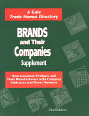 Brands and Their Companies Supplement Book