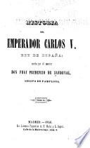 Historia del emperador Carlos V, rey de España  , Volumes 2-3