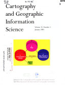 Cartography and Geographic Information Science Book