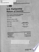 U.S. Partnership Return of Income