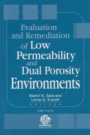 Evaluation and Remediation of Low Permeability and Dual Porosity Environments