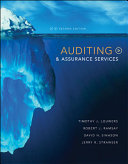 Auditing   Assurance Services Book
