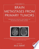 Brain Metastases from Primary Tumors, Volume 3