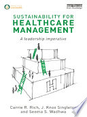 Sustainability for Healthcare Management Book
