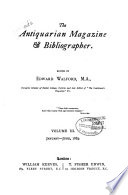 Walford's Antiquarian Magazine and Bibliographical Review