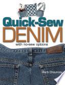 Quick Sew Denim with No Sew Options