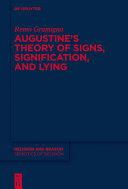 Augustine s Theory of Signs  Signification  and Lying