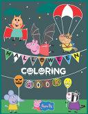 Peppa Pig Halloween Coloring Book
