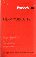 Fodor s New York City Book PDF
