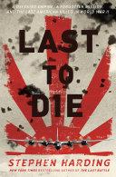 Last to Die Pdf/ePub eBook