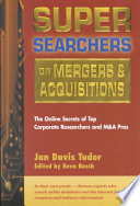 Super Searchers on Mergers   Acquisitions
