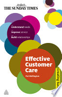 Effective Customer Care Book