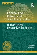 Criminal Law Reform and Transitional Justice [Pdf/ePub] eBook