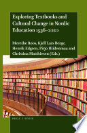 Exploring Textbooks and Cultural Change in Nordic Education 1536   2020
