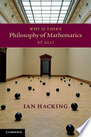 Why Is There Philosophy of Mathematics At All  Book